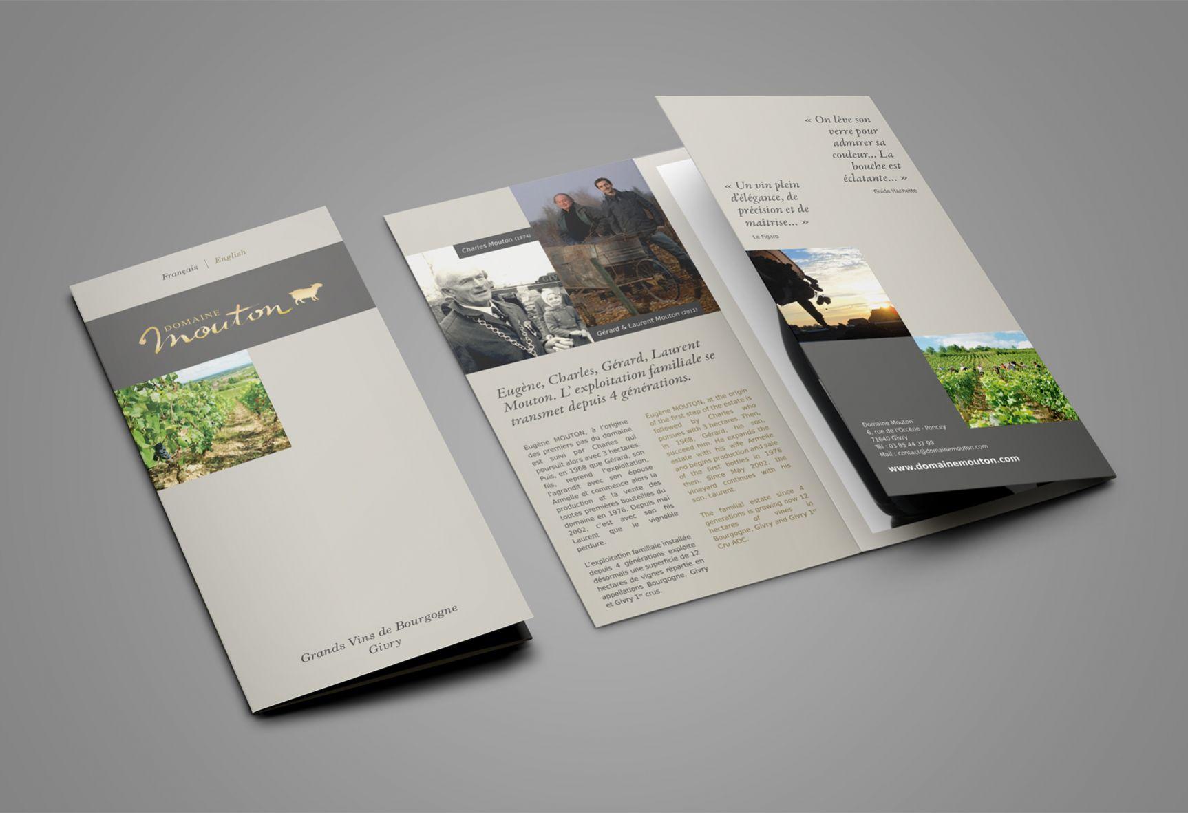 Brochure Domaine Mouton