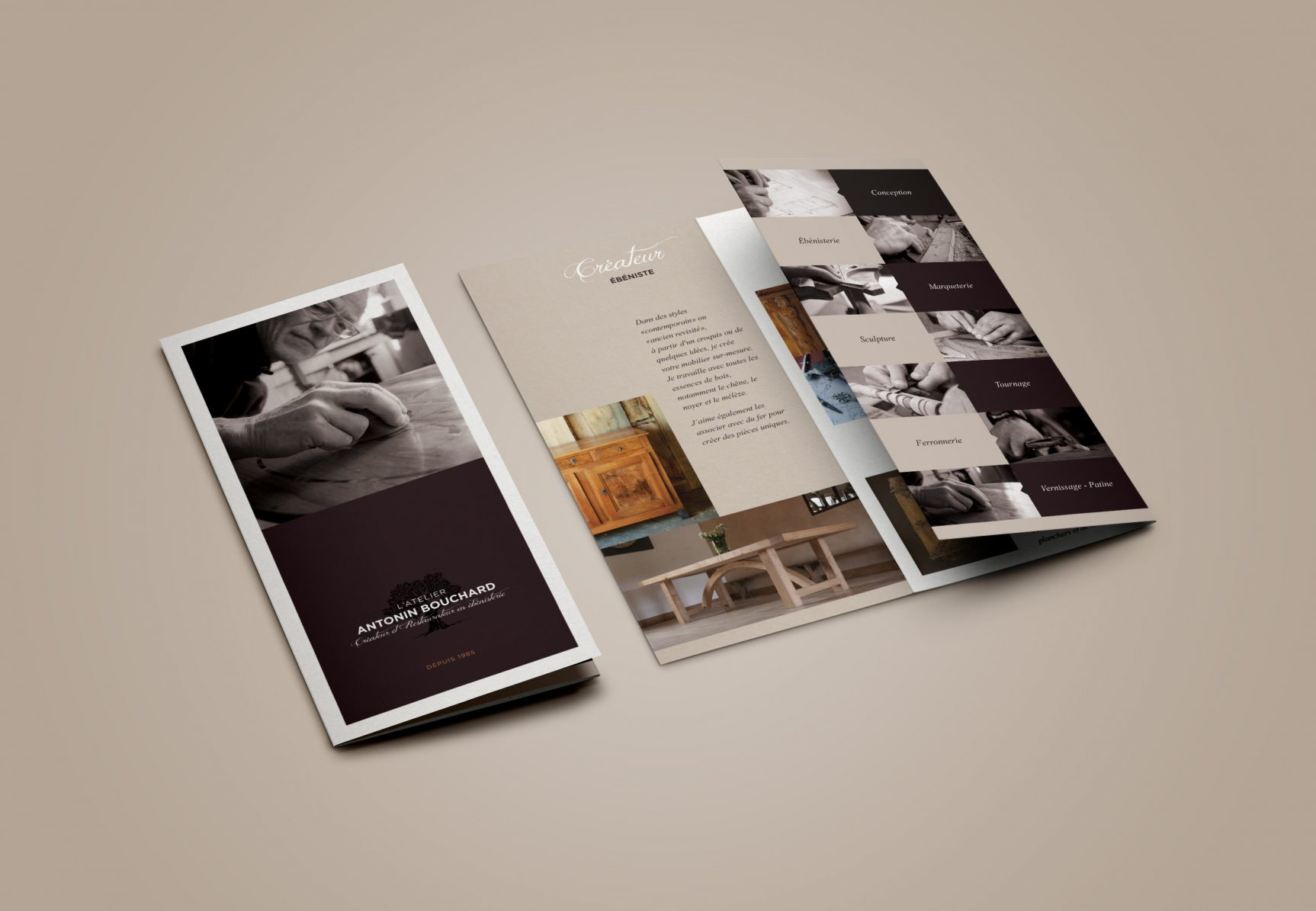 Antonin Bouchard Brochure