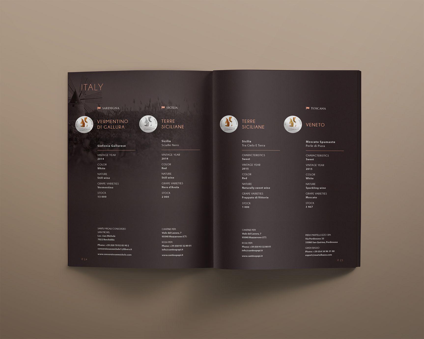 Brochure Concours de vins Féminalise