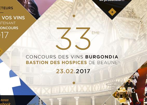 Concours des Vins Burgondia Site internet
