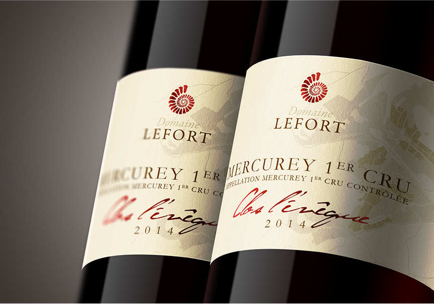 Domaine Lefort Packaging Bouteille VIn