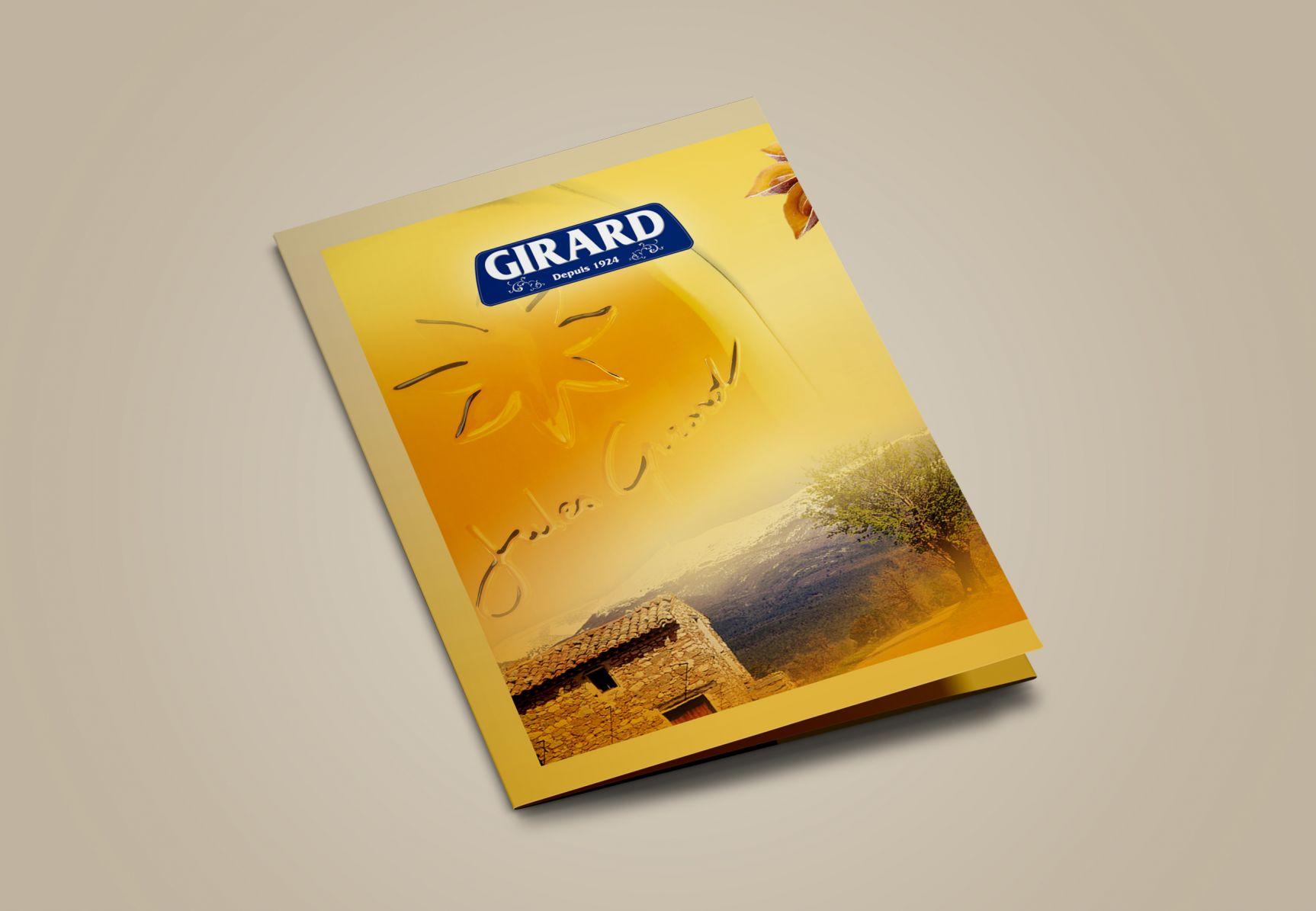 Pastis Girard Brochure Couverture