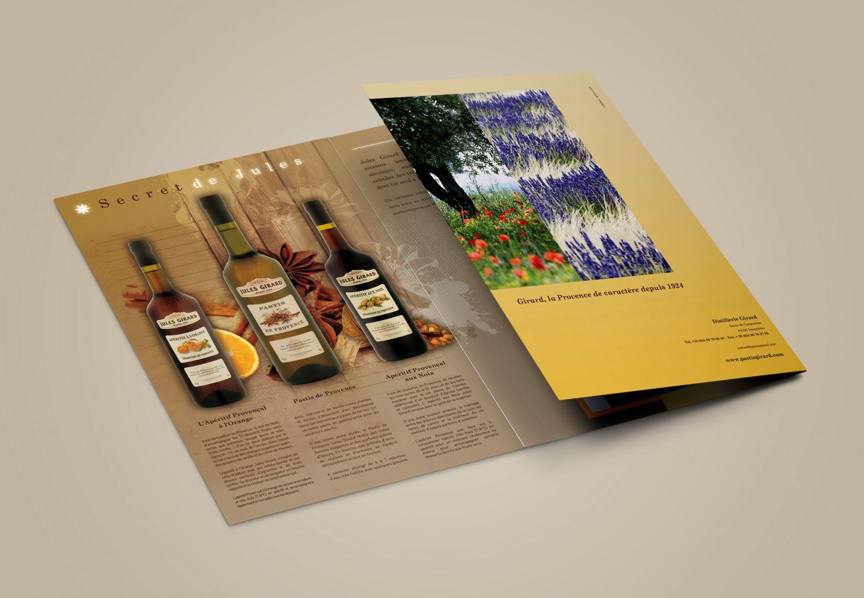Pastis Girard Brochure