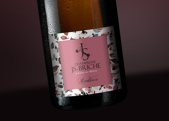 Champagne JS Briche Packaging