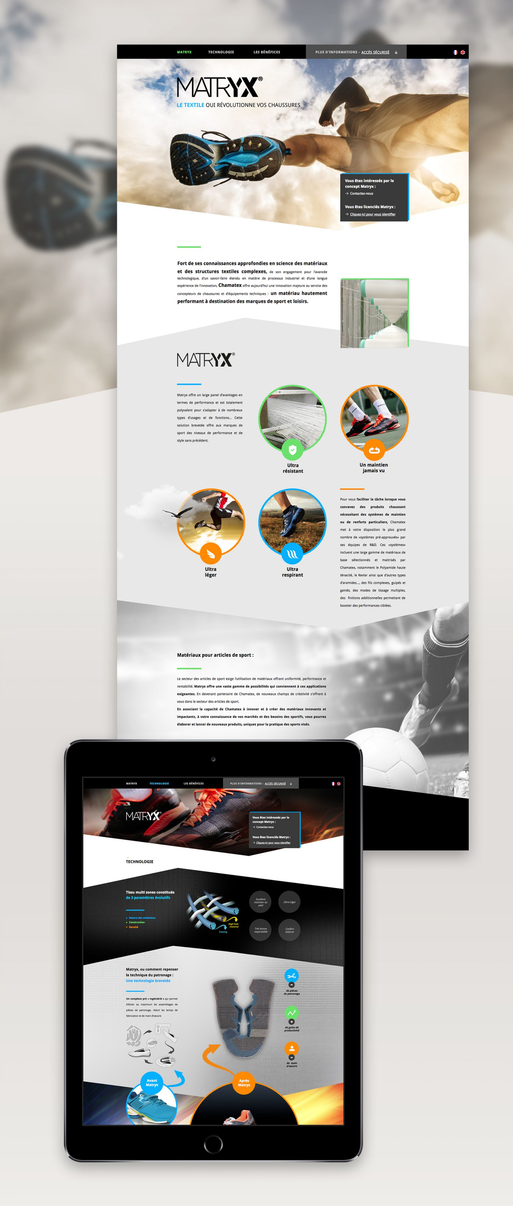 Matryx Site internet