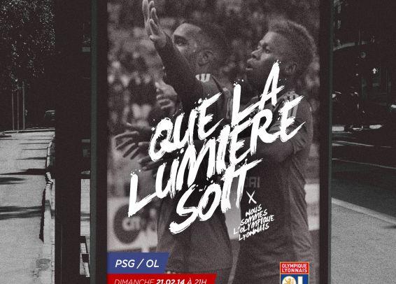 Olympique Lyonnais Affiche