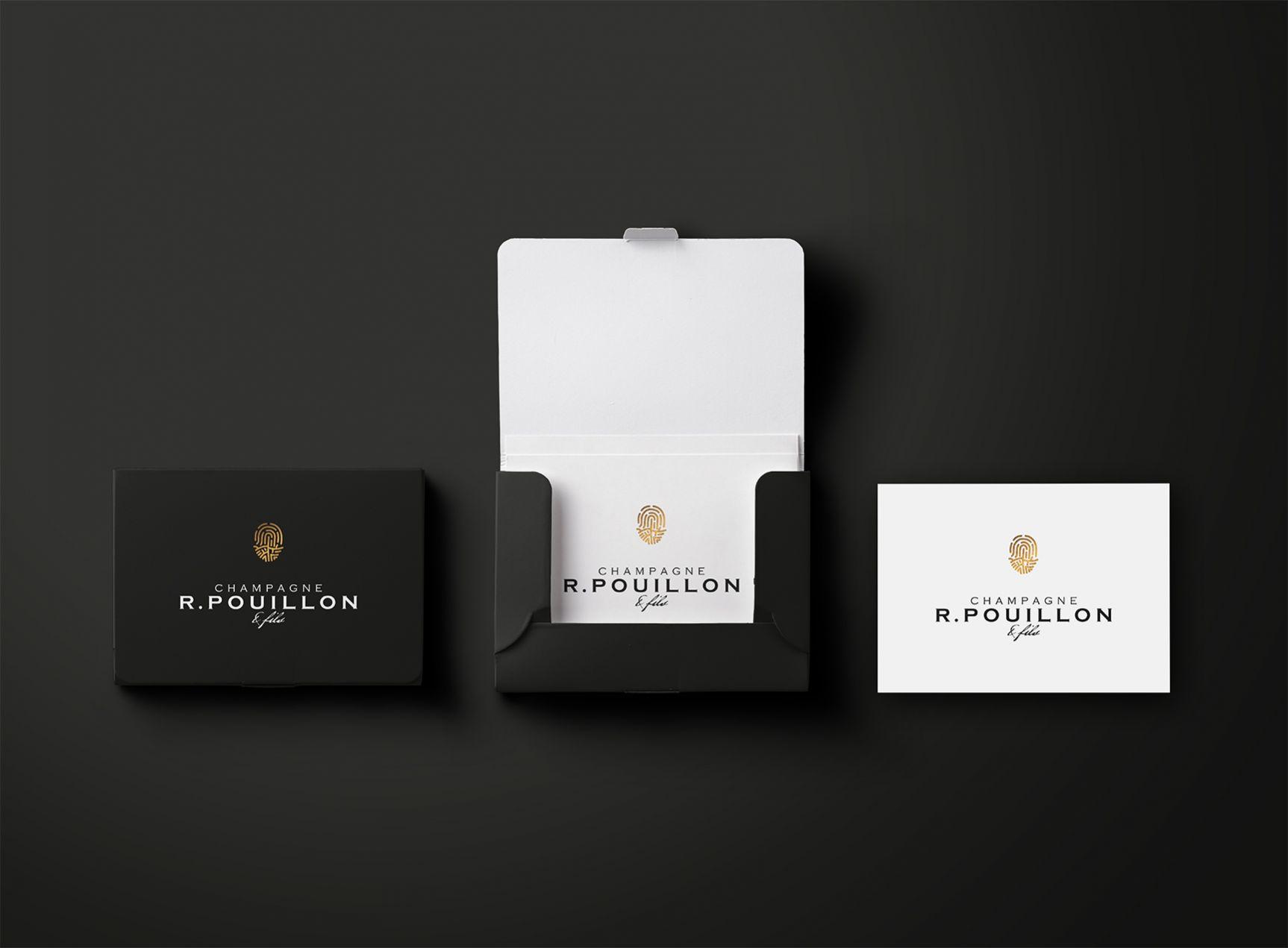 Champagne Pouillon & Fils Identité visuelle