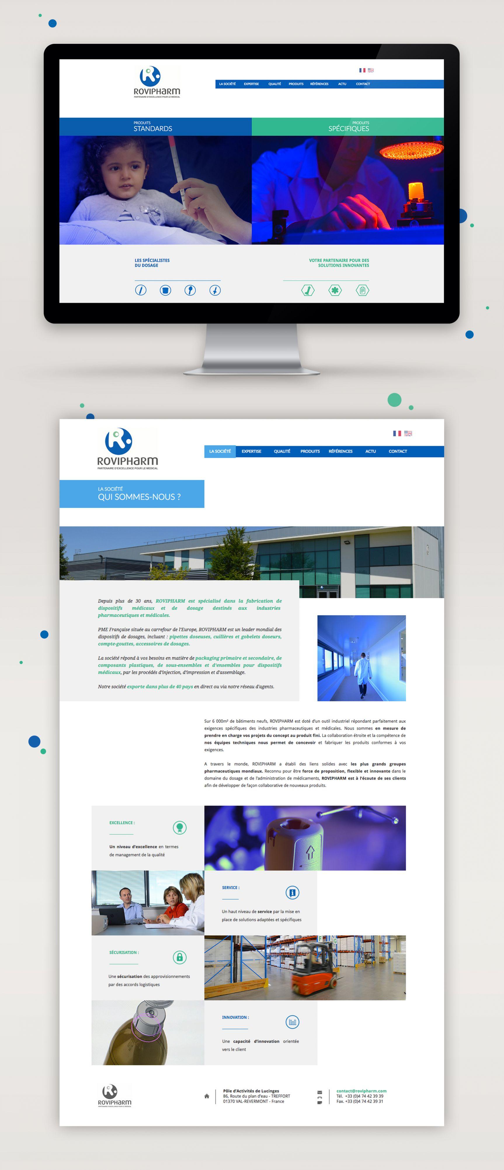 Rovipharm Site internet