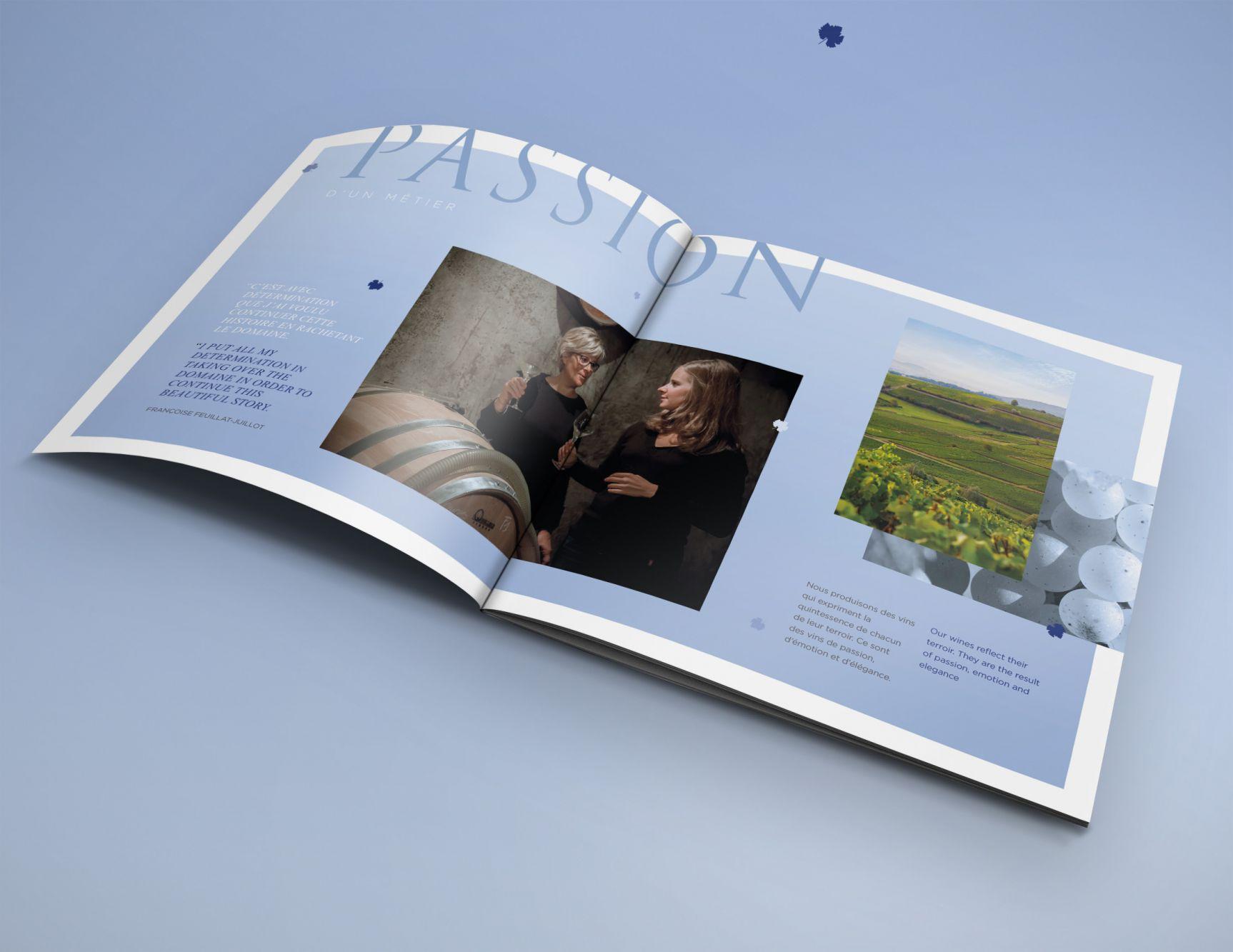 Brochure domaine Feuillat-Juillot