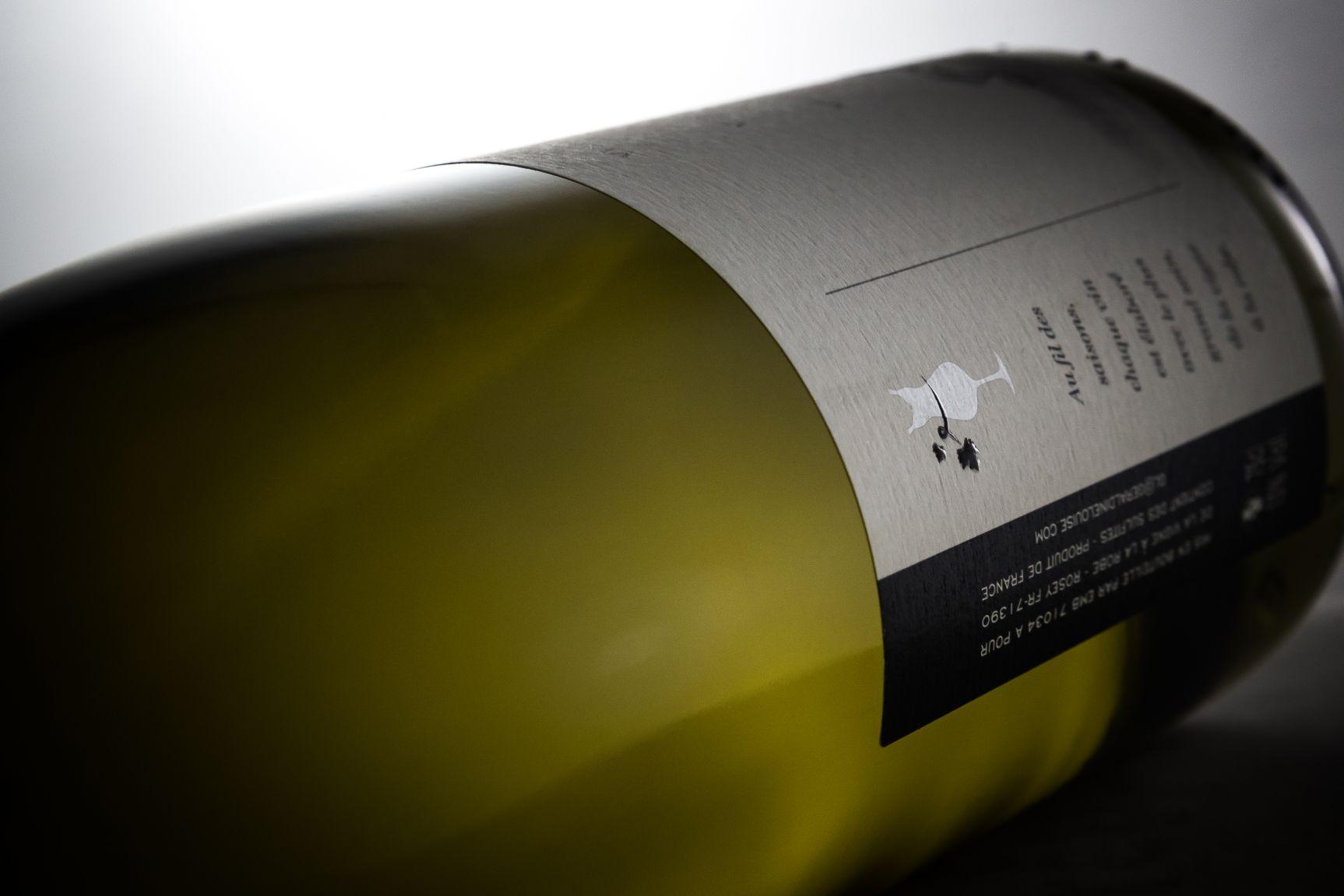 Étiquette vin Givry Géraldine Louise