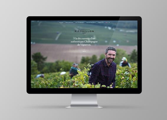 champagne r pouillon et fils site web